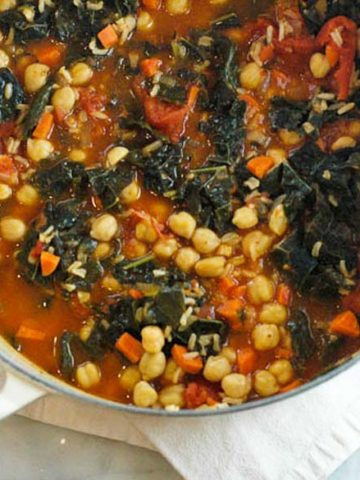 Kale and Chickpea Stew 780
