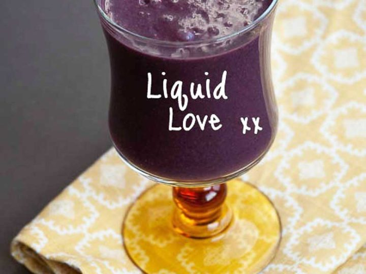 Liquid Love Purple Superfoods Smoothie