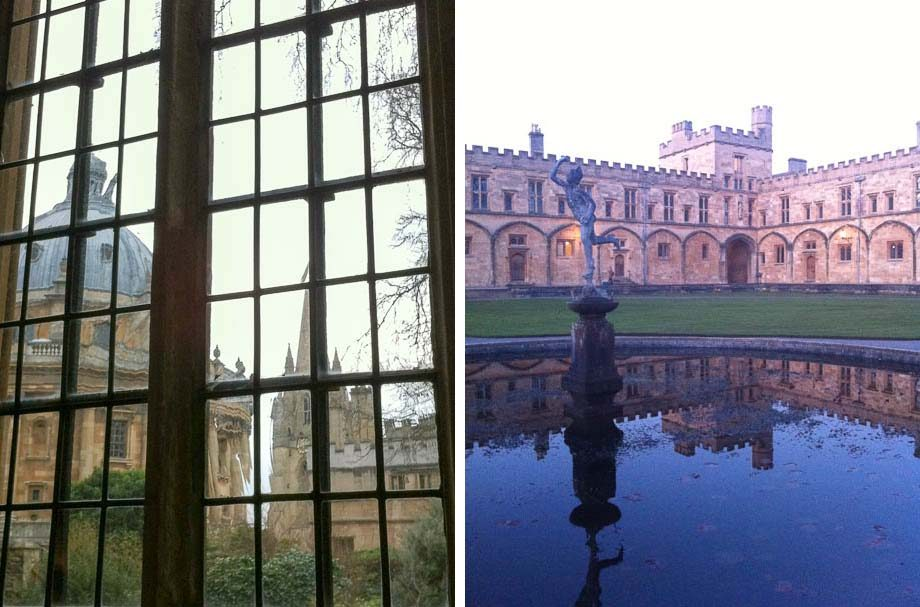 Oxford University Building Views | Umami Girl