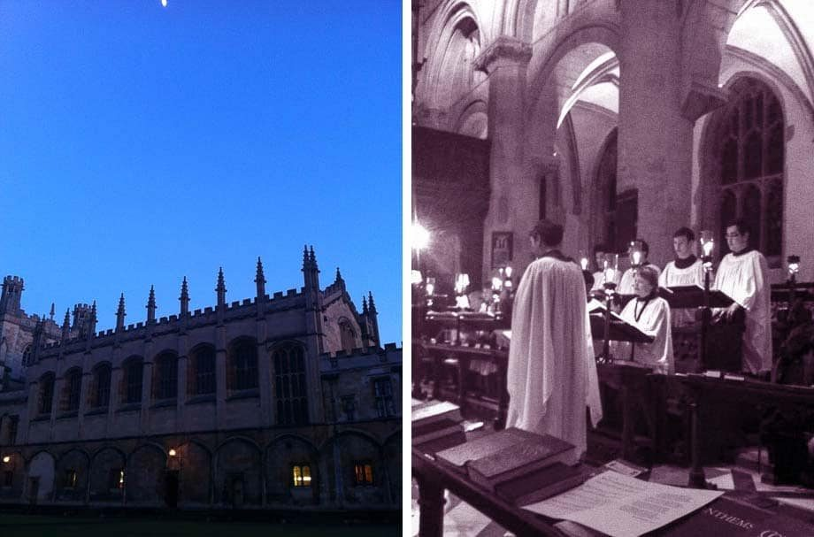 Oxford University's Christ Church Evensong | Umami Girl