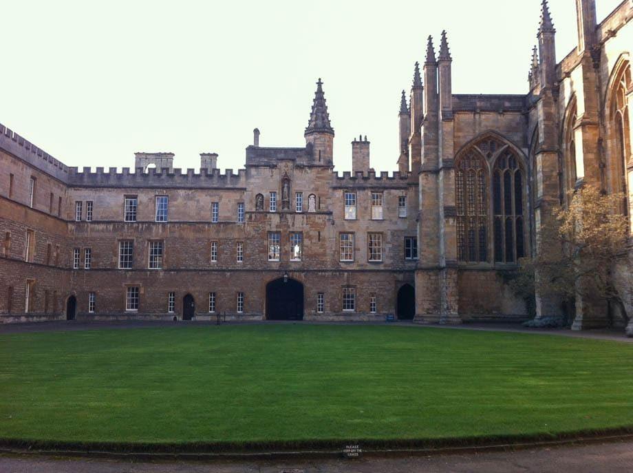 Oxford University's New College | Umami Girl