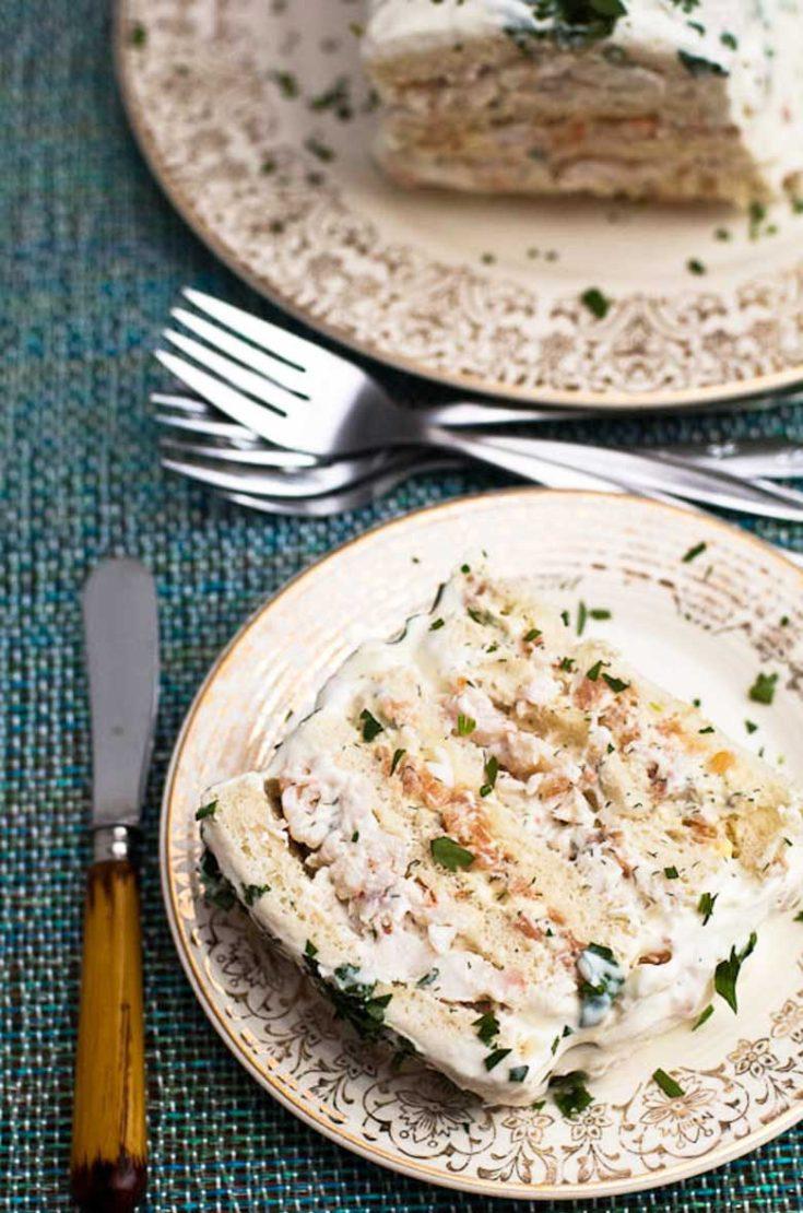 Smörgåstårta Recipe (Savory Swedish Sandwich Cake)