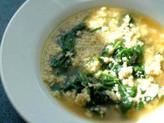 Stracciatella alla Romana (Italian Egg Drop Soup)