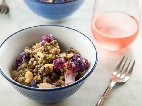 Warm Cauliflower, Lentil, and Quinoa Salad 780 | Umami Girl