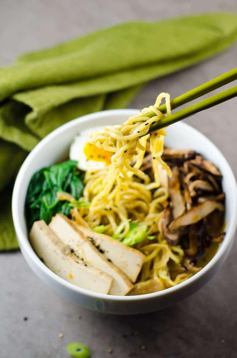 Easy Vegetarian Ramen | Umami Girl 780