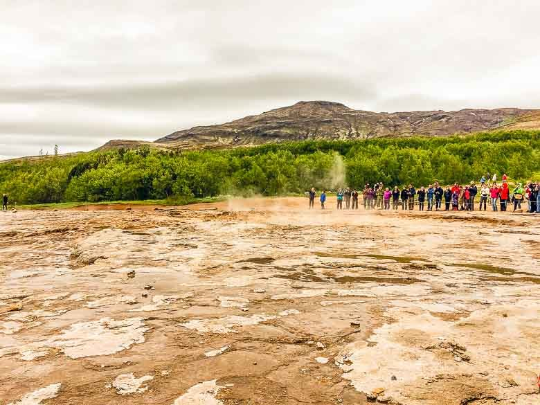 Geysir Geyser Iceland South Coast Golden Circle 780 | Umami Girl
