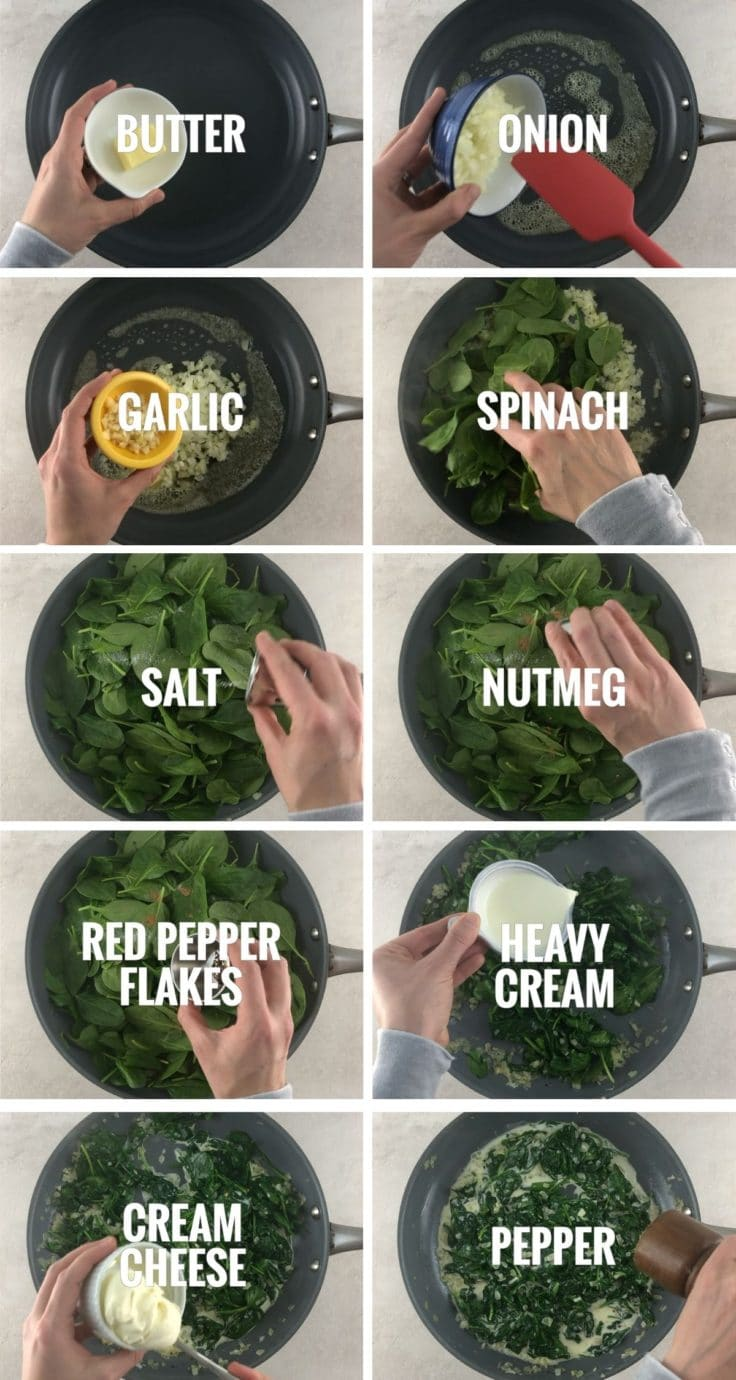 ingredients and step by step instructions