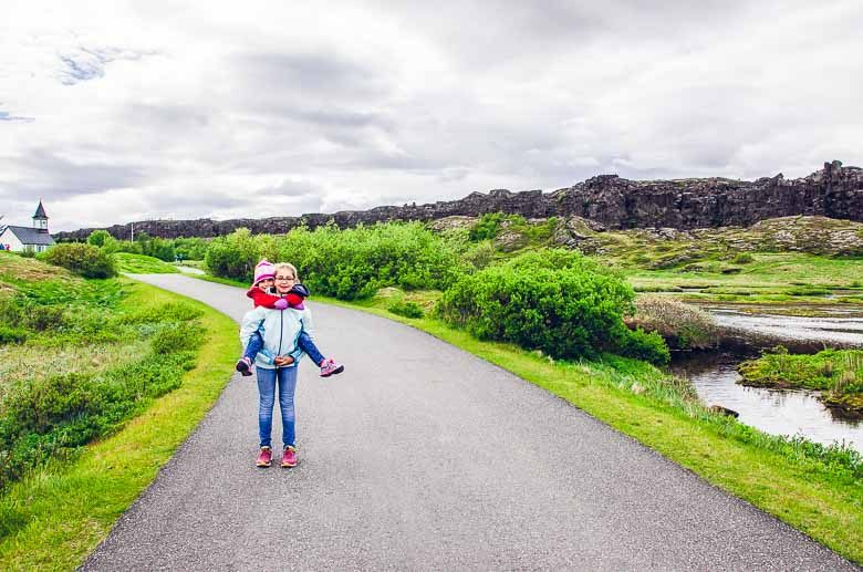 Piggyback Thingvellir National Park Iceland South Coast Golden Circle 780 | Umami Girl