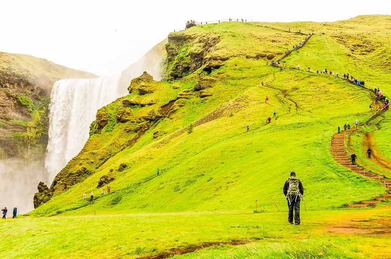 Skógafos Waterfall Iceland South Coast Golden Circle 780 | Umami Girl