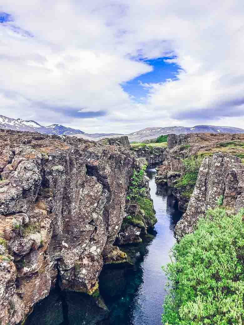 Tectonic Plates at Thingvellir National Park Iceland South Coast Golden Circle 780 | Umami Girl