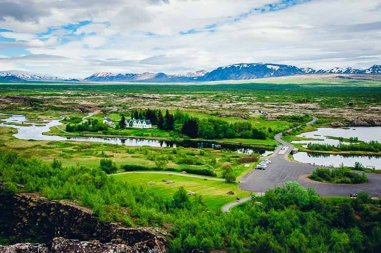 Thingvellir National Park Iceland Panorama South Coast Golden Circle 780 | Umami Girl