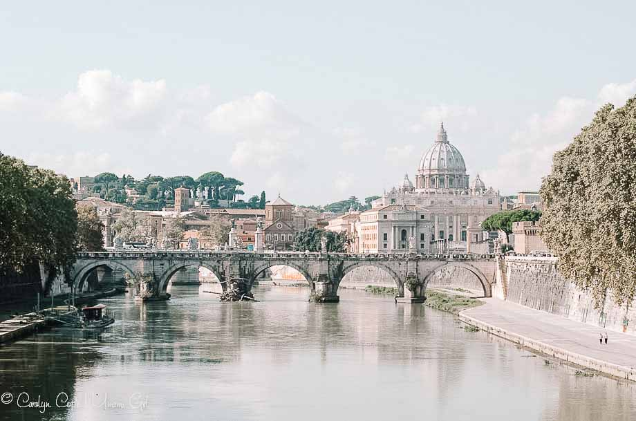 View of Vatican City from Rome | Umami Girl 1080