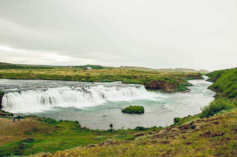 Waterfall at Faxi Iceland South Coast Golden Circle 780 | Umami Girl