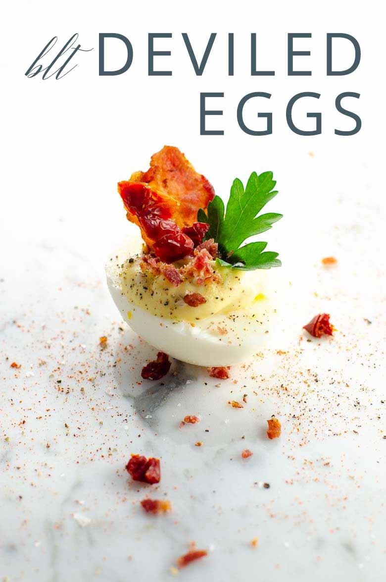 BLT Deviled Eggs _ Umami Girl PIN
