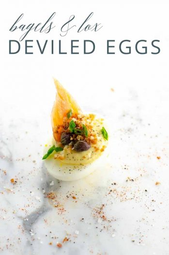 Bagels and Lox Deviled Eggs _ Umami Girl PIN