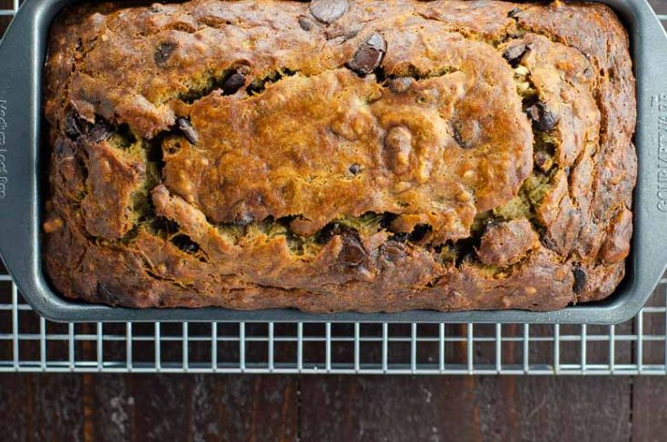 The Best Banana Bread Recipe (with Chocolate Chips)