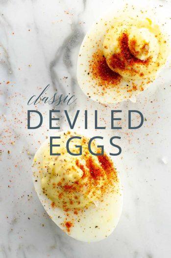 Classic Deviled Eggs _ Umami Girl PIN