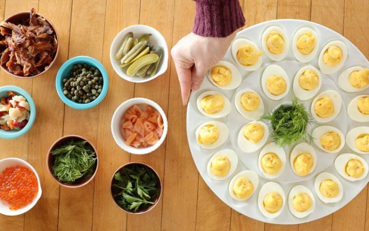 How to Build a Deviled Egg Bar
