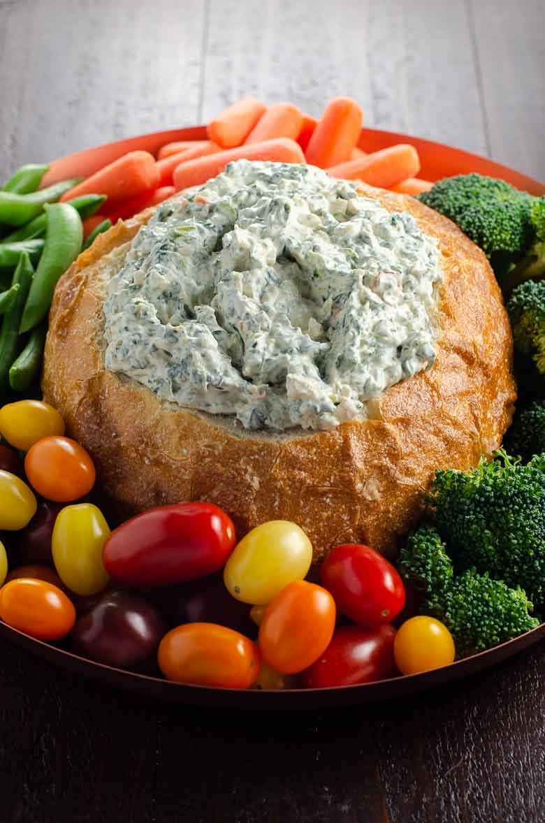 Knorr Spinach Dip In A Bread Bowl Umami Girl