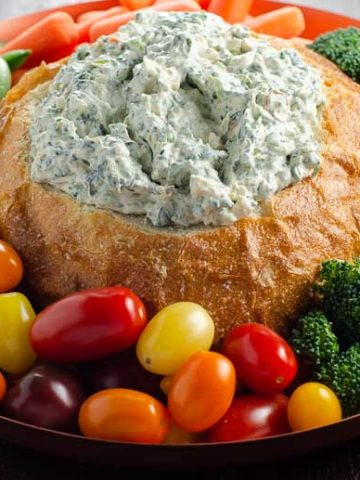 Knorr Spinach Dip in a Bread Bowl | Umami Girl 780