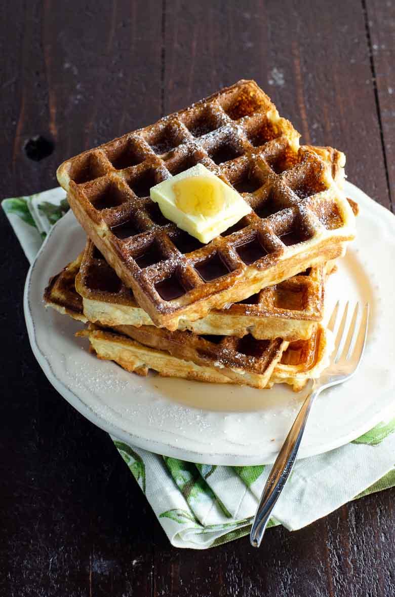 Waffles | Umami Girl Waffle Recipe