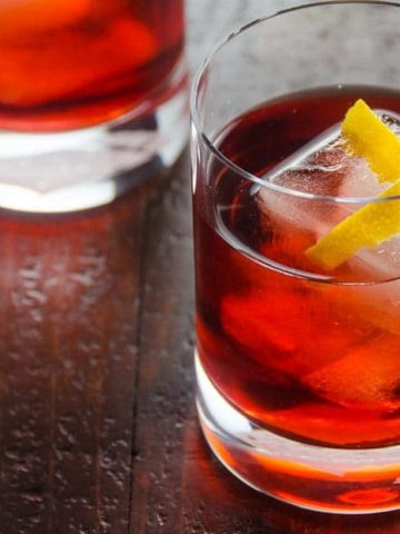 Negroni Recipe | Umami Girl 780