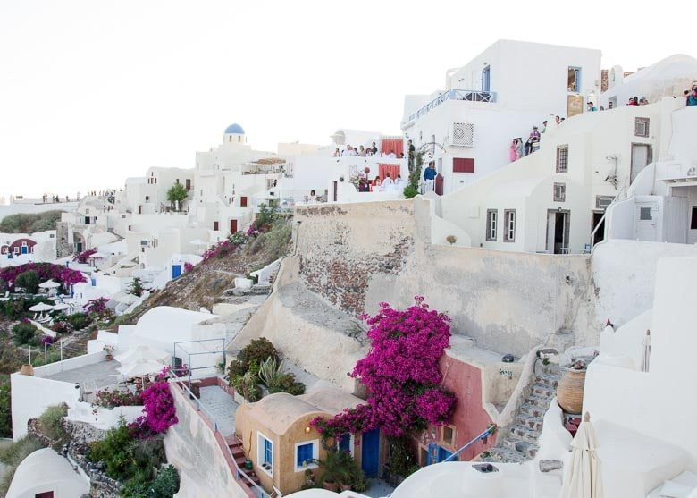 Oia Village Santorini Greece Buildings 780 | Umami Girl
