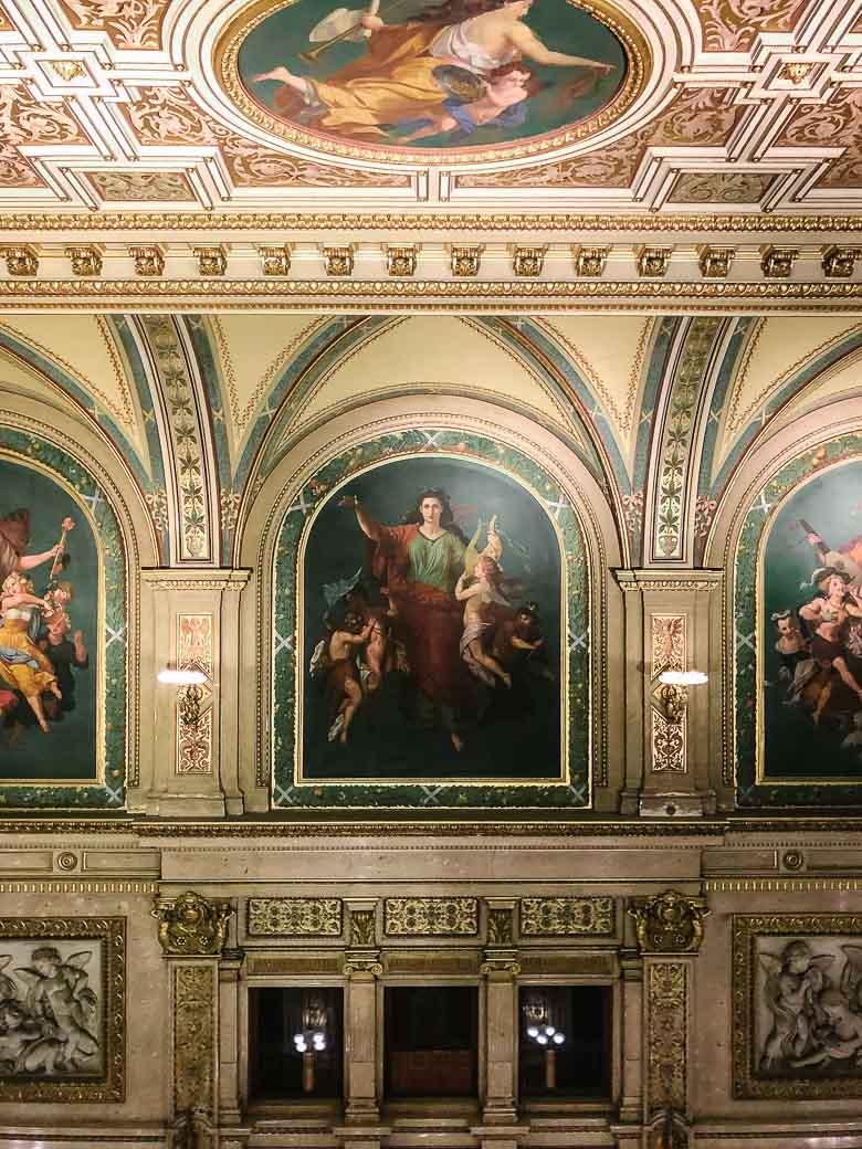 Vienna State Opera House Lobby Austria | Umami Girl 780