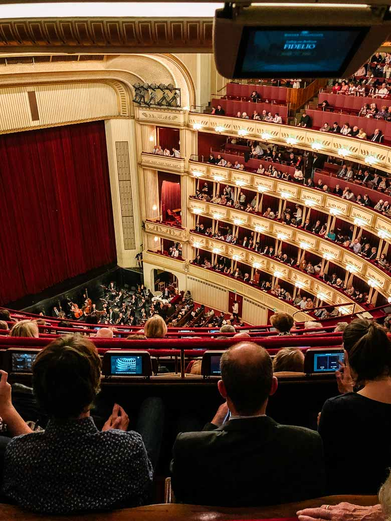 Vienna State Opera House Standing Room Only Austria | Umami Girl 780