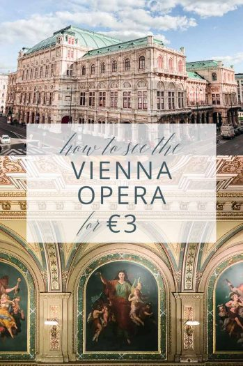 How to see the Vienna State Opera for three euros