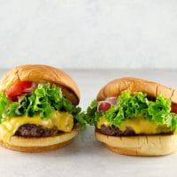Homemade Shake Shack Burgers