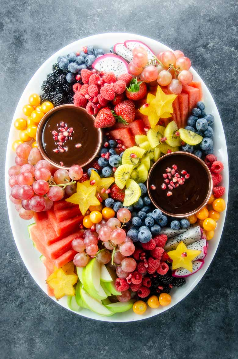 Fruit Platter | Fruit Tray Ideas | Umami Girl