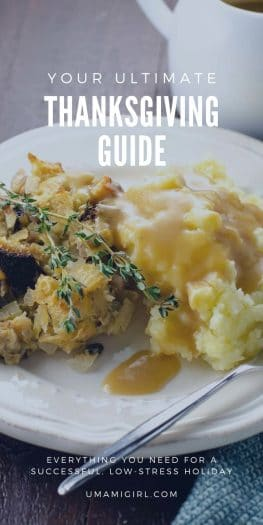 Thanksgiving Guide Pin | Umami Girl