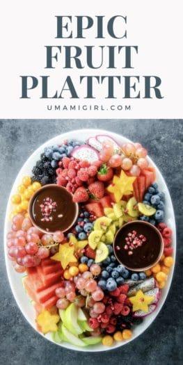 Epic Fruit Platter Pin _ Umami Girl