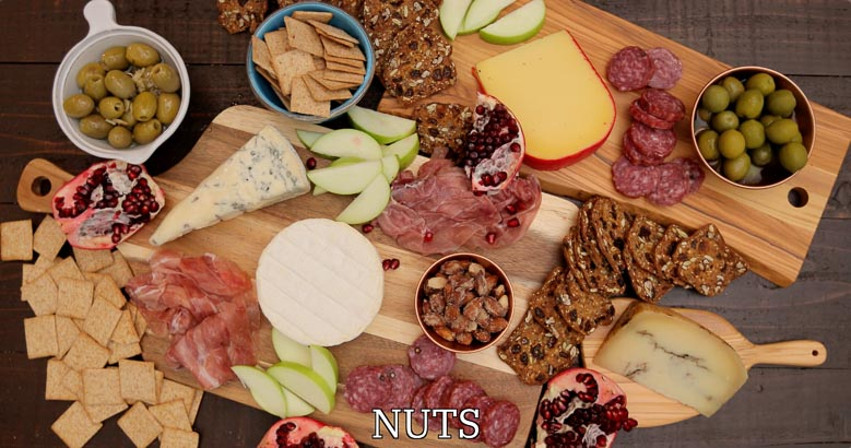 Nuts for a cheese board