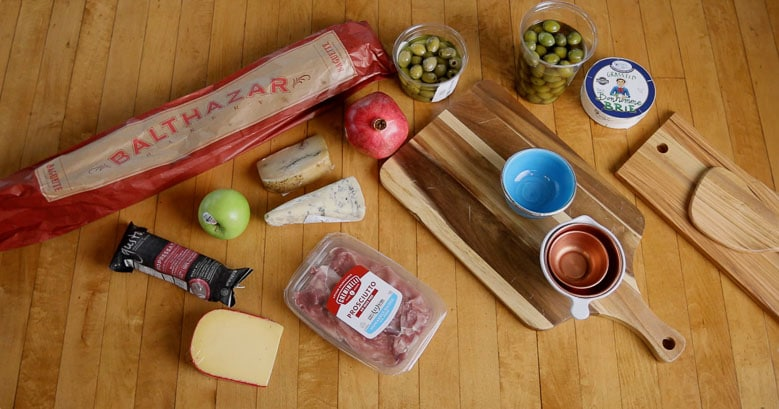 Cheese Platter Ingredients