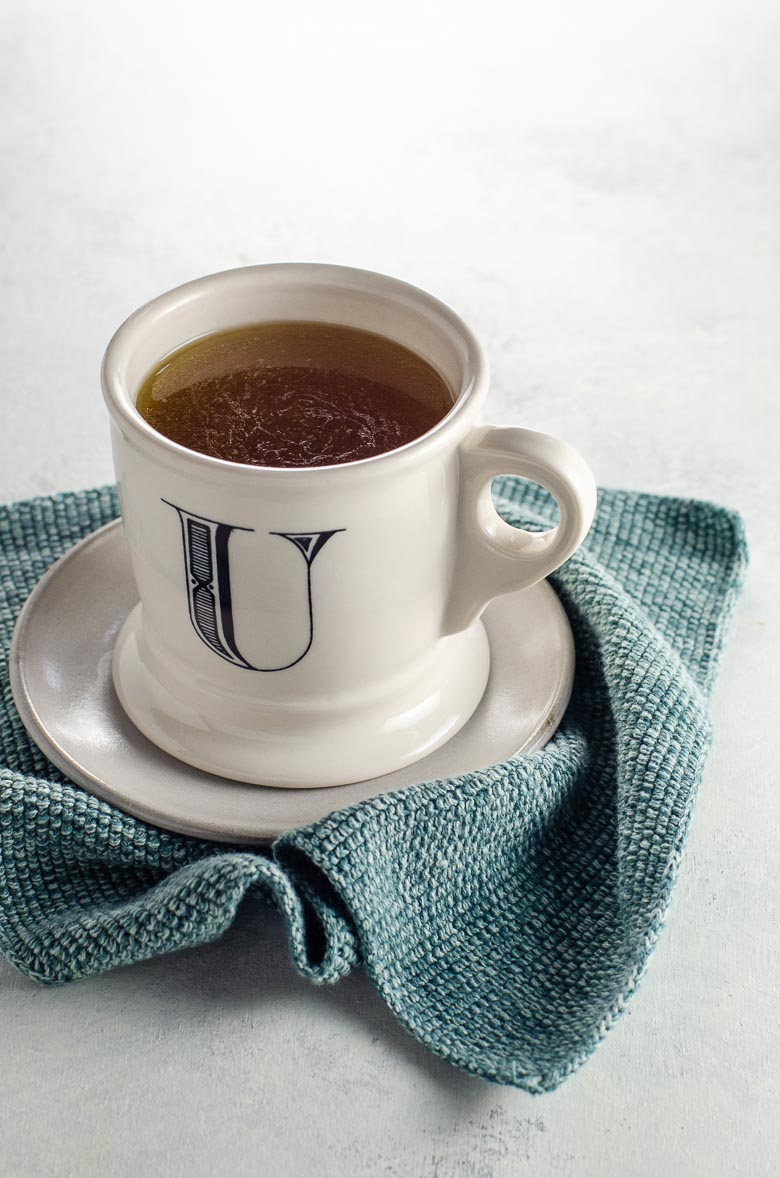 Instant Pot Bone Broth in a Mug | Umami Girl