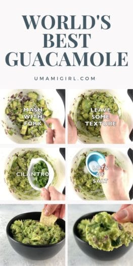 Best Guacamole Recipe _ Umami Girl