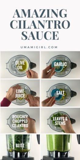 Cilantro Sauce Recipe Pin 2_ Umami Girl