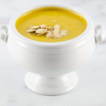 Classic Pumpkin Soup Recipe | Umami Girl 780-2