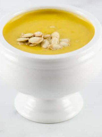 Classic Pumpkin Soup Recipe | Umami Girl 780-2