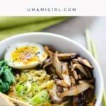Easy Vegetarian Ramen with Rich, Savory Broth _ Umami Girl