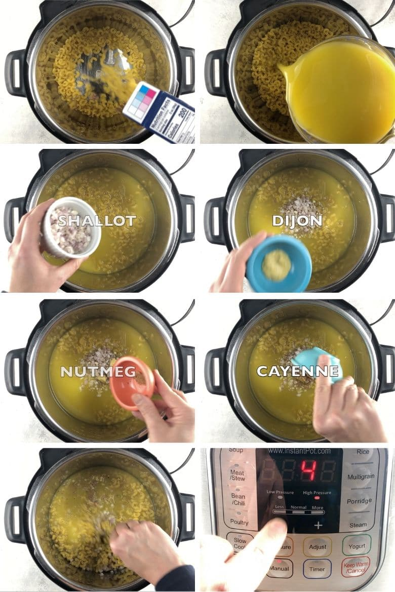 Instant Pot Mac and Cheese Process 1