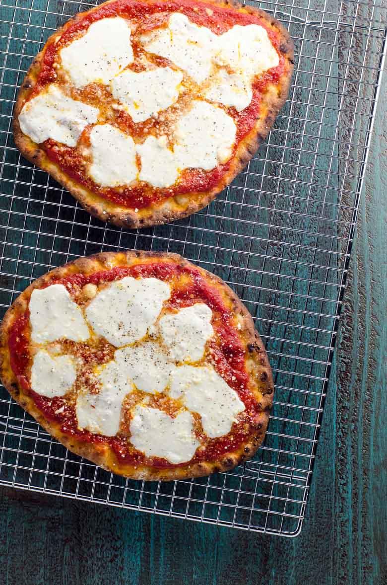 Naan Pizza Margherita | Umami Girl 780