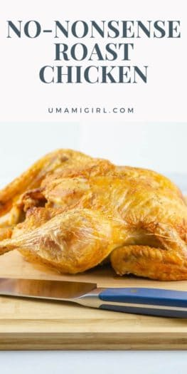 SImplest Best Roast Chicken _ Umami Girl