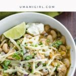 White Chili with Chicken and Beans _ Umami Girl