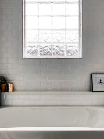 Half bath to full bathroom renovation