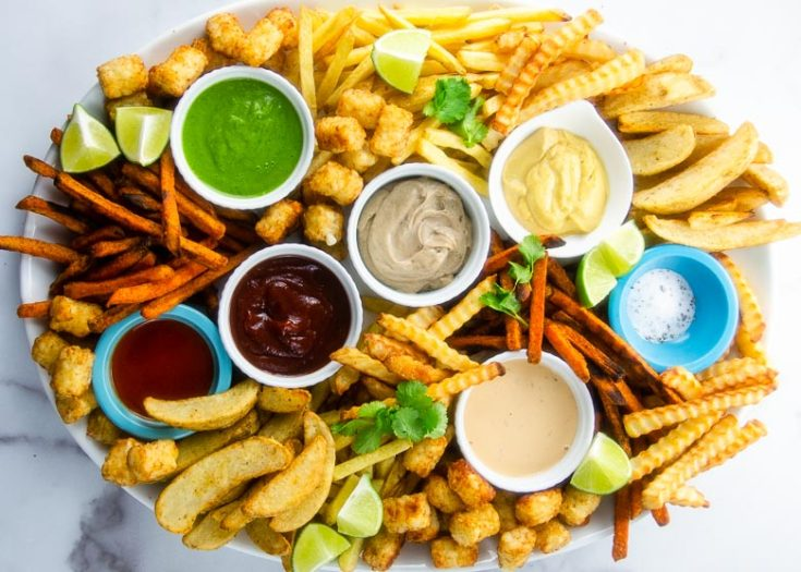 Epic Fries Board: How to Make a French Fry Platter