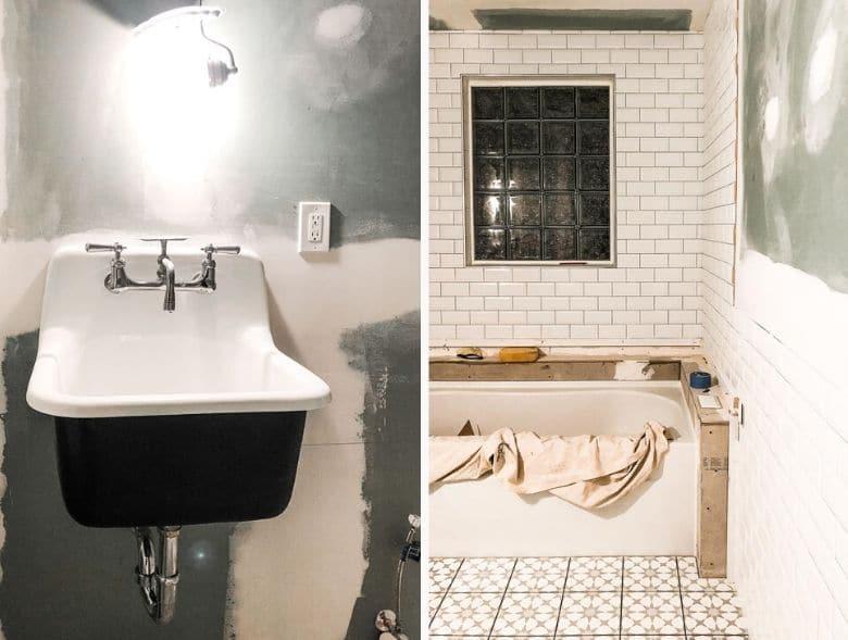 Hendrickson Bathroom Renovation Process 2 _ Umami Girl