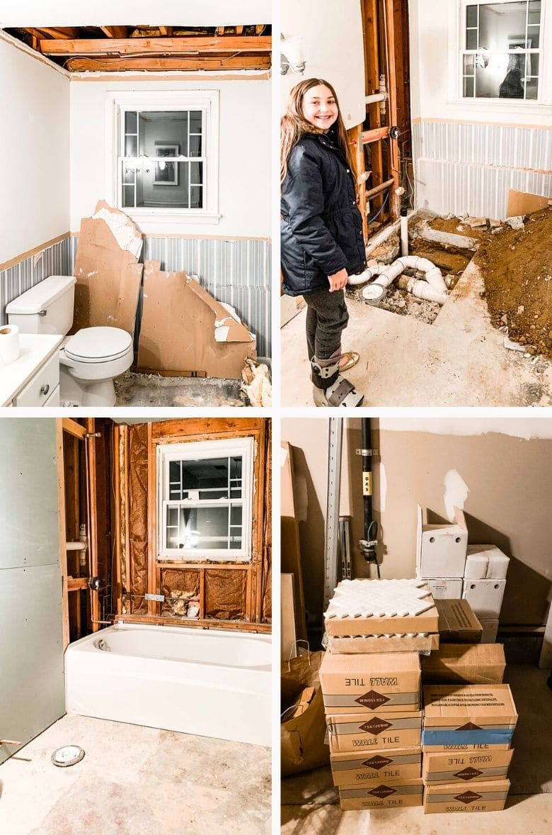 Hendrickson Downstairs Bathroom Renovation Process _ Umami Girl